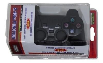 Joystick inalámbrico compatible con  PS2 PS3 PC