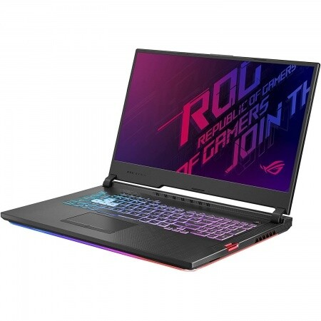 "Notebook Gamer Asus Core i7 4.5Ghz, 16GB, 512GB SSD, 17.3"" FHD, RTX 2070 8GB"