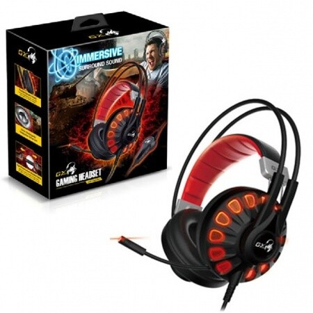 Audifono Gamer c/microfono Genius HS-G680 7.1