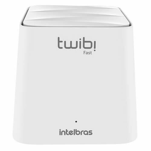 Router WIFI MESH AC1200 Dual Band KIT 1 Uni-Twibi INTELBRAS