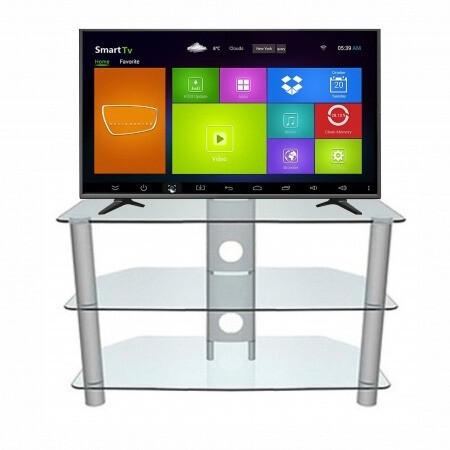 Mesa de vidrio para televisor