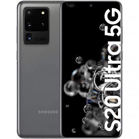 Samsung G988bd Galaxy S20 Ultra 5G 12GB 128GB dual gris