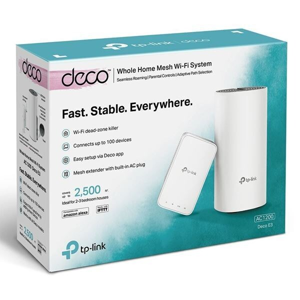 Access Point TP-LINK Deco E3 Dual Band (2 pack)