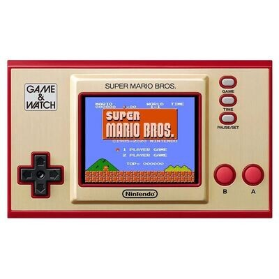 Consola Retro Nintendo Game & Watch Super Mario Bros
