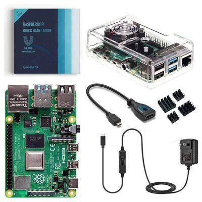 Raspberry Pi 4 Model B 8GB Starter Kit con Fan