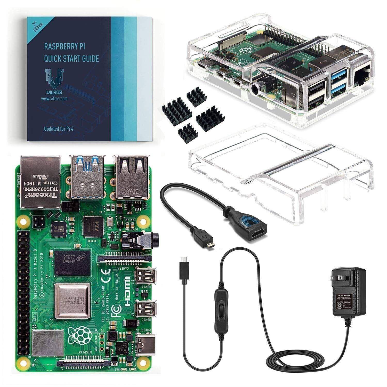 Raspberry Pi 4 Model B 2GB Starter Kit