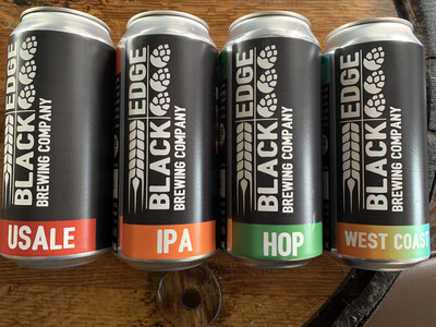 Blackedge Cans Mixed Case 12 x 440ml