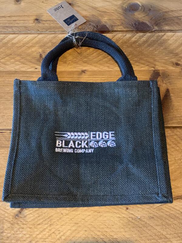 Blackedge Embroidered Jute Gift Bag