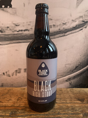 Black Stout 4.0% 500ml Bottle