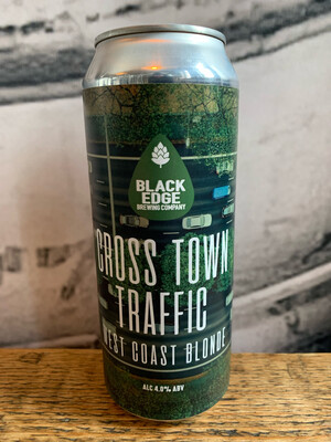 Cross Town Traffic 4% 500ml Can