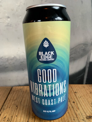 NEW BEER! Good Vibrations 4.2% 500ml Can