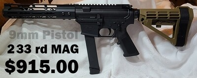 AM9 Pistol w/7.5