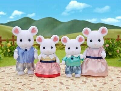 CC Marshmallow Mouse Family