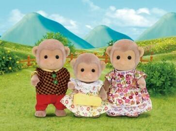 CC Mango Monkey Family