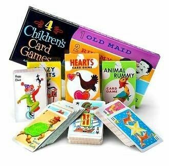 4 Children's Card Games