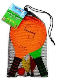 Jazzminton Paddle Game - 2 in 1 - Indoor/Outdoor - Black Bag