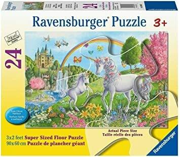 03043 Prancing Unicorns Floor Puzzle