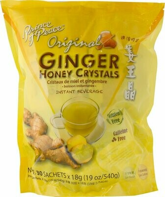 Original Ginger Honey Crystals - 30 bags