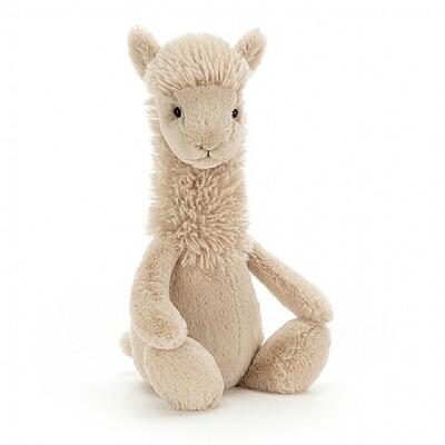 Jellycat Bashful Llama Medium Plush