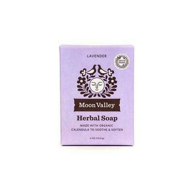 Lavender Herbal Soap - Moon Valley Organics