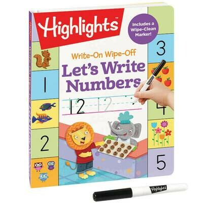 Let's Write Number: Write-On Wipe-Off - Highlights