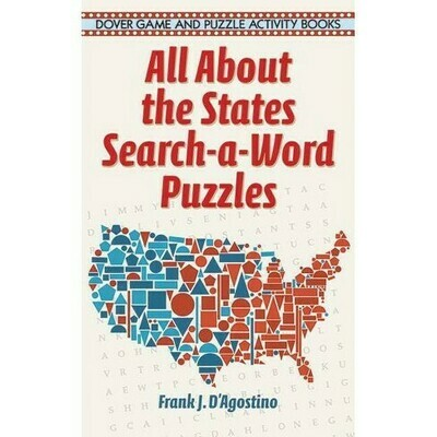 All About the States Search a Word Puzzles - D'Agostino - PB