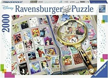 16706 My Favorite Stamps Disney Stamp Album 2000pc Puzzle