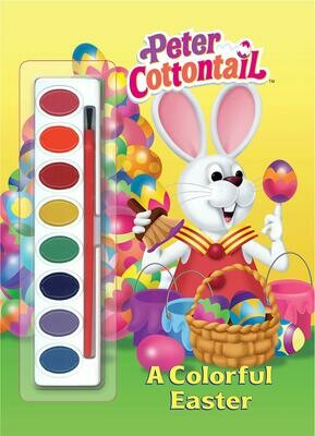 Peter Cottontail: A Colorful Easter Watercolor Book