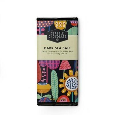 Dark Sea Salt Seattle Chocolate Bar