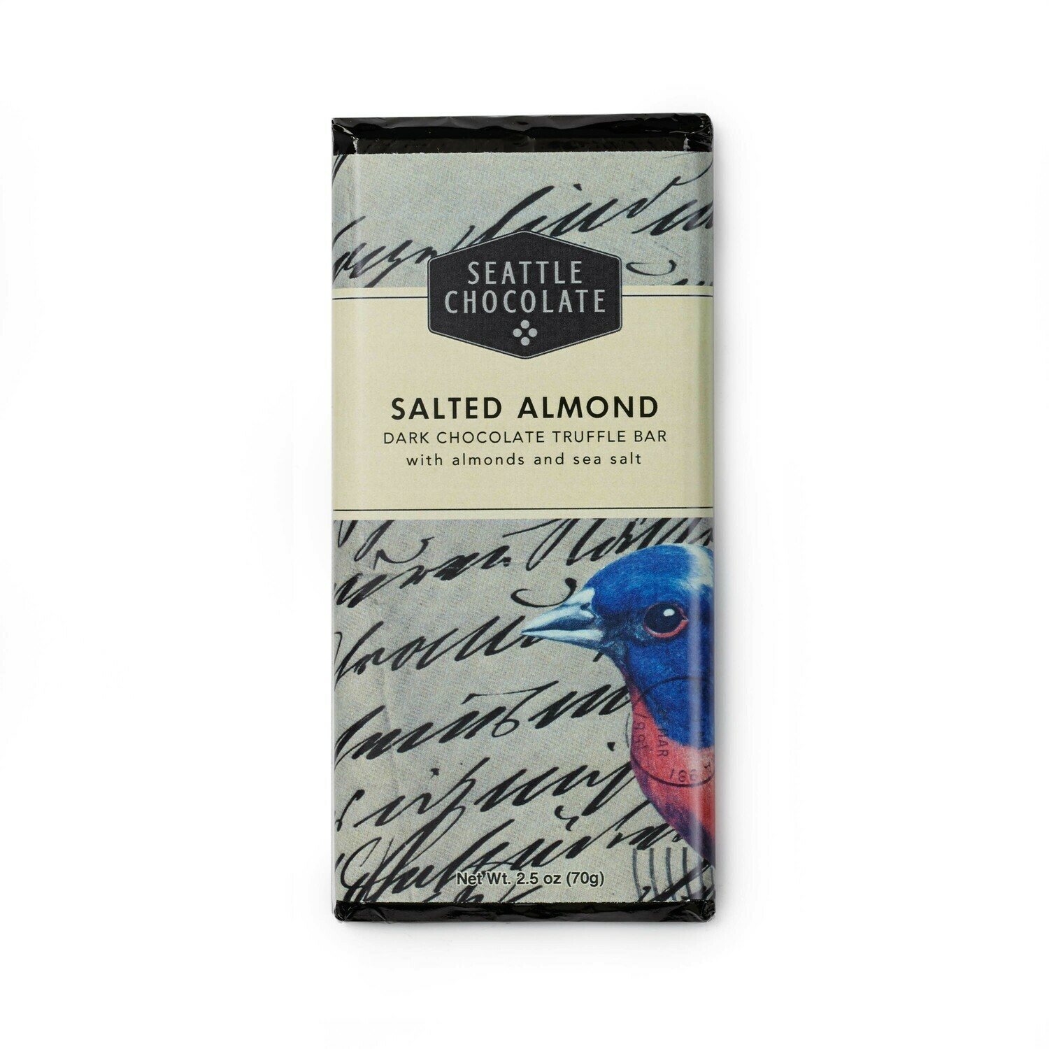 Salted Almond Seattle Chocolate Bar