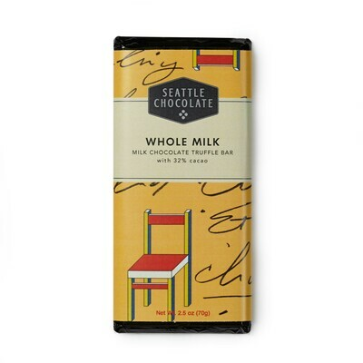 Whole Milk Seattle Chocolate Bar