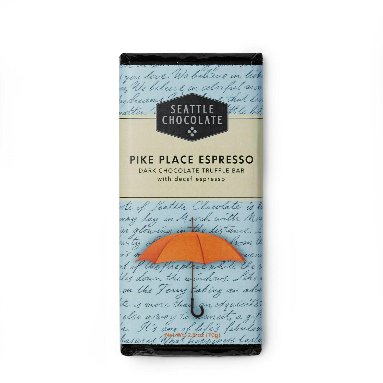 Pike Place Espresso Seattle Chocolate Bar
