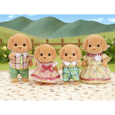 CC Toy Poodle Family