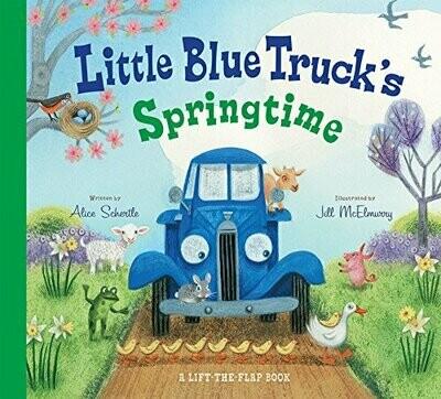 Little Blue Truck's Springtime - Schertle/McElmurry - Board Book