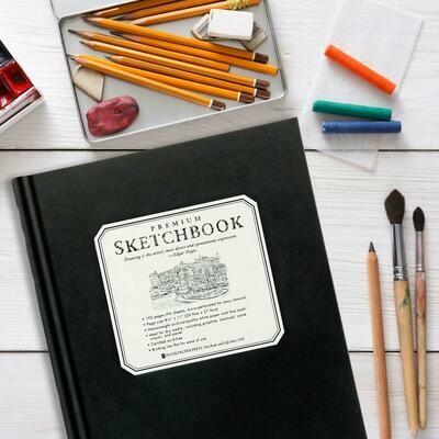 Full-Size Premium Sketchbook