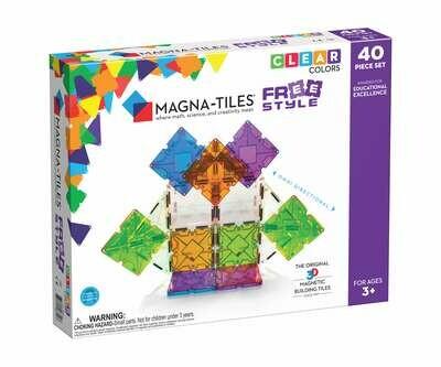 Magna-Tiles FreeStyle - 40pc