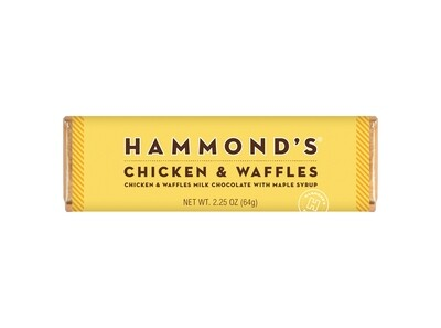 Chicken & Waffles Milk Chocolate Candy Bar - Hammonds