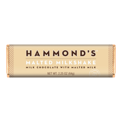 Malted Milkshake Candy Bar - Hammonds