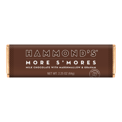S'Mores Milk Candy Bar - Hammonds