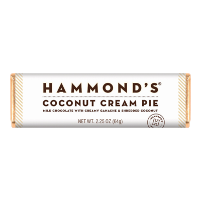 Coconut Cream Pie Milk Chocolate Bar - Hammonds
