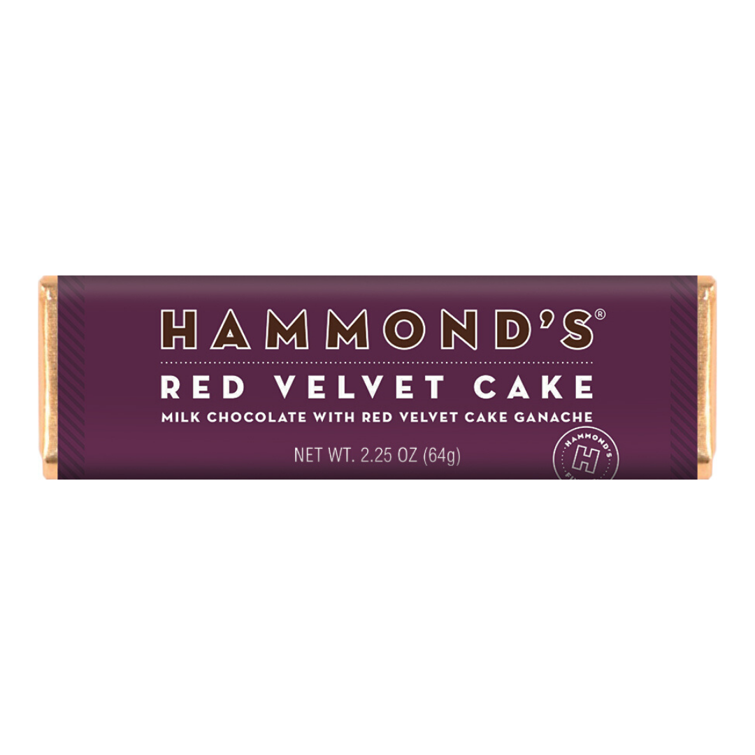 Red Velvet Cake Chocolate Bar - Hammonds