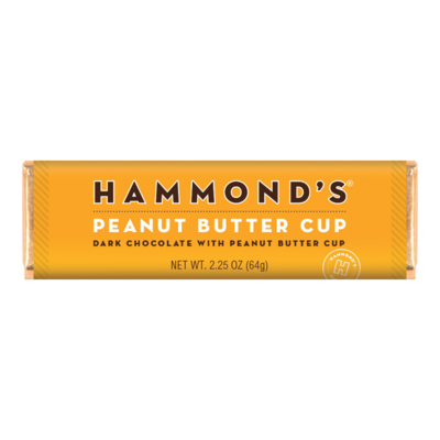Peanut Butter Cup Dark Candy Bar - Hammonds