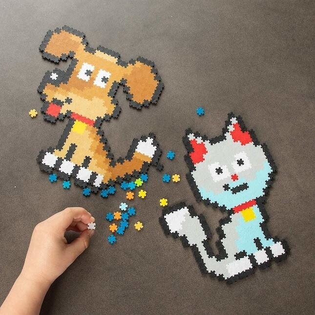 SALE: Jixelz Playful Pets 700pc Set - org. $9.99