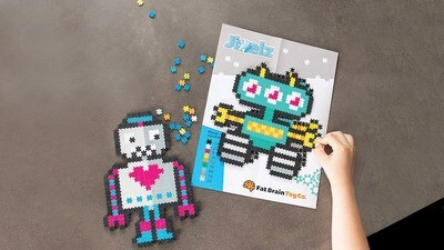 SALE: Jixelz Roving Robots 700pc Set - org. $9.99