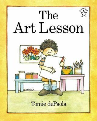 The Art Lesson - DePaola - PB