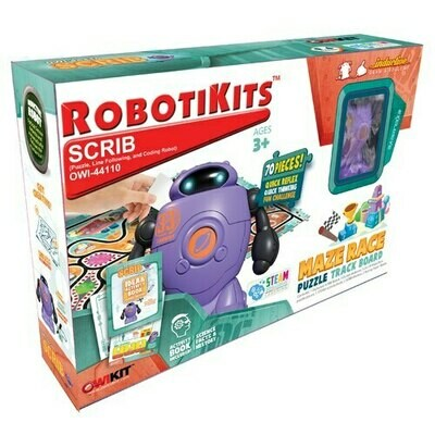SALE: Owi Robotikits Scrib - org. $19.99