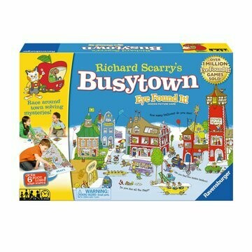 Richard Scarry's Busy Town Eye Found it! Game