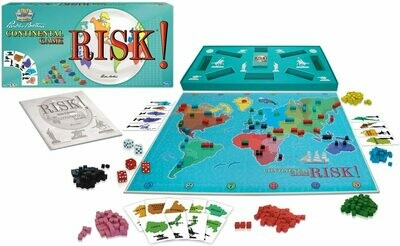 Risk - Continental Game - 1959