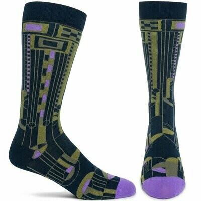 FLW Mens Saguaro 2 - Navy - Ozone Socks
