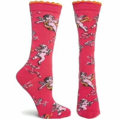 Floral de Jouy - Pink - Ozone Socks